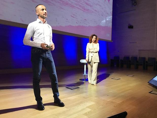 Giorgio Sacconi e Gaia Ferro
