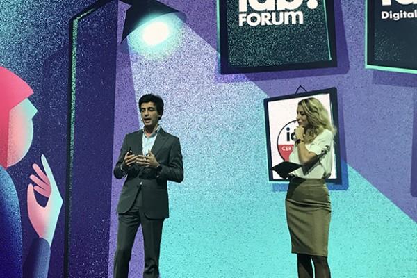 Carlo Noseda sul palco di IAB Forum 2019