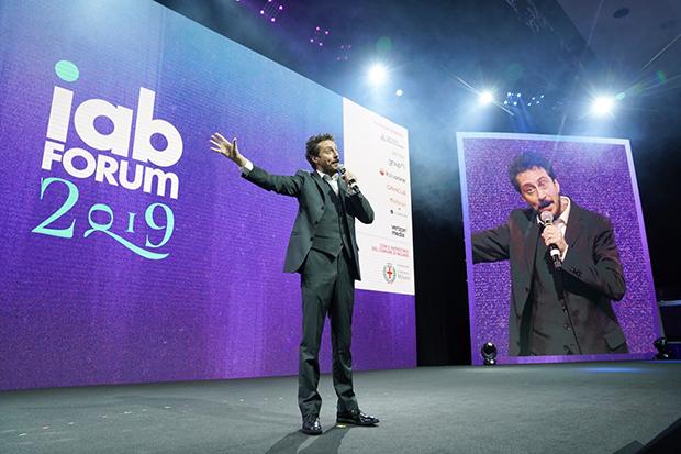 Luca Bizzarri a IAB Forum 2019