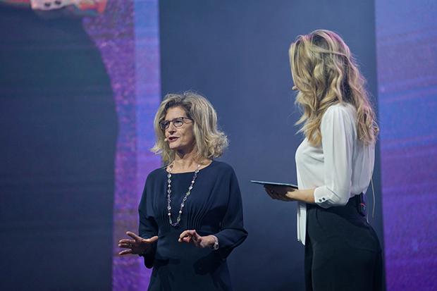 Roberta Cocco, Assessore di Milano sul palco di IAB Forum 2019