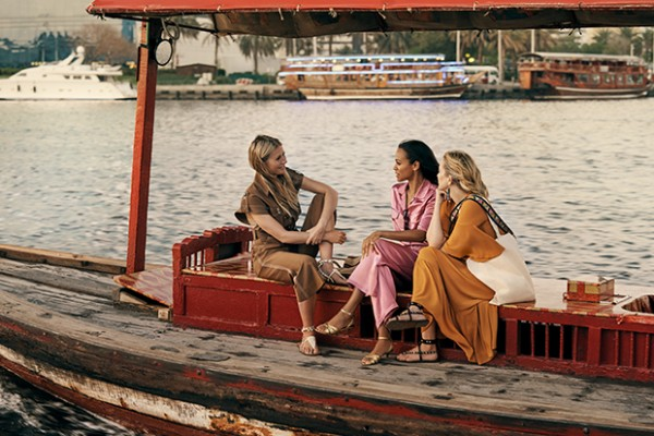 Gwyneth Paltrow, Zoe Saldana e Kate Hudson a Dubai