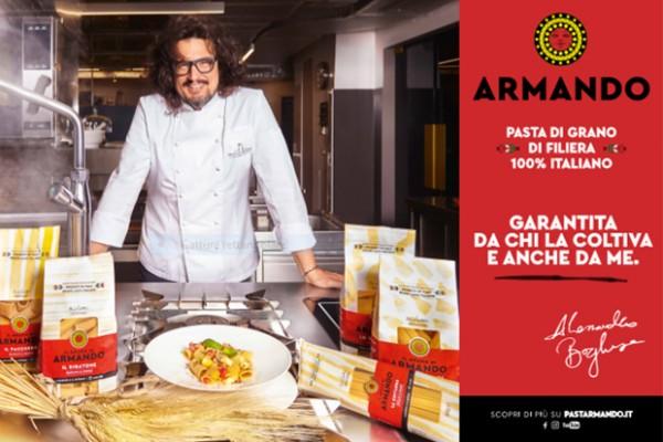La campagna Pasta Armando con Alessandro Borghese