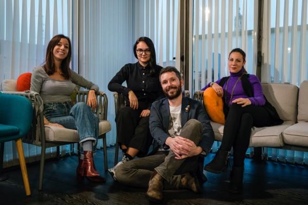 Da sinistra: Eleonora Villari, Corina Patraucean, Massimo Filimbertie e Silvia Savoia