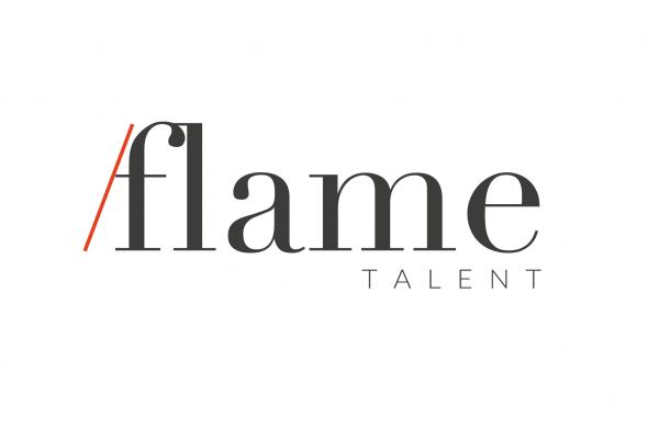 Il logo di Flame Talent