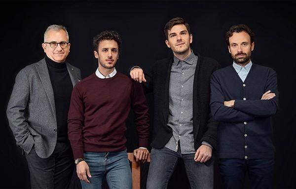 Maurizio Spagnulo, Giovanni Greco, Enrico Pasquino, Francesco Martini di Leo Burnett Torino