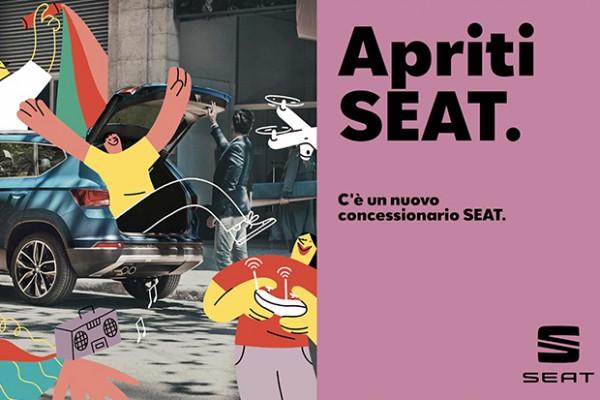 La campagna Seat