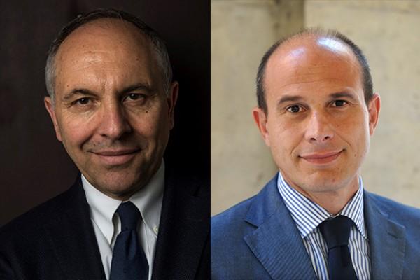 Vittorio Meloni di UPA e Giuliano Noci del PoliMi