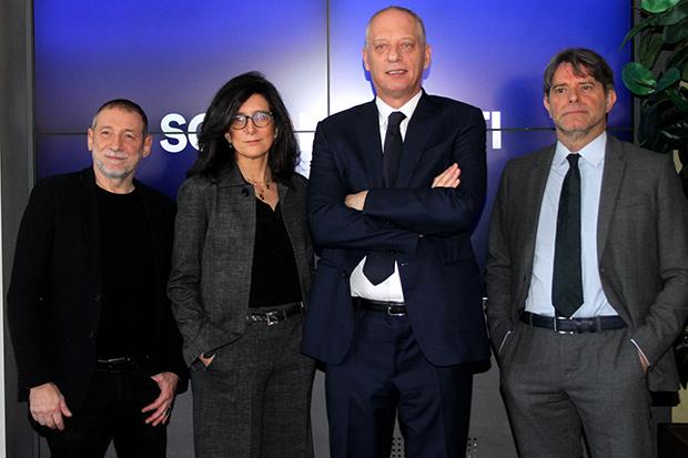 Duccio Forzano, Laura Carafoli, Peter Gomez, Aldo Romersa per Sono le Venti