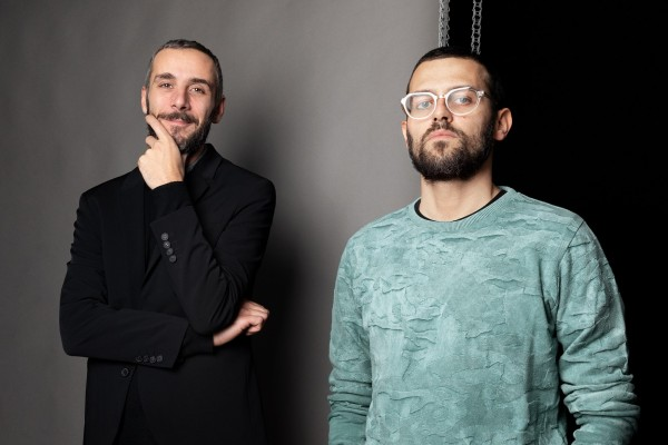 Da sinistra: Alessandro Sciarpelletti e Daniele Piazza
