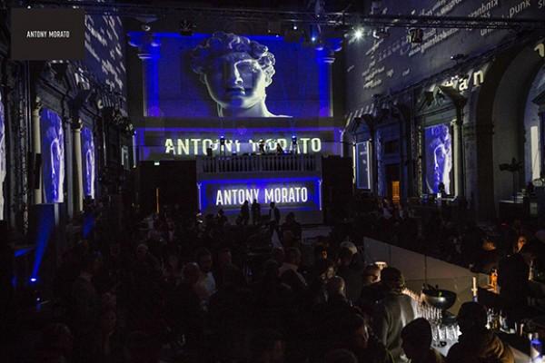 Evento Antony Morato realizzato dall'agenzia Insight al Pitti Uomo
