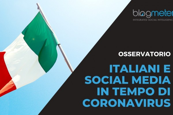 Blogmeter-Osservatorio Italiani Social Media Coronavirus