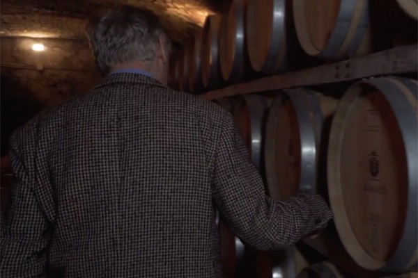 "Un frame del trailer della serie ""People of Frescobaldi"""
