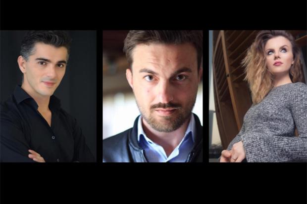 Juxhin Radhima, Armand Sheshori e Anita Likmeta di Ipervox