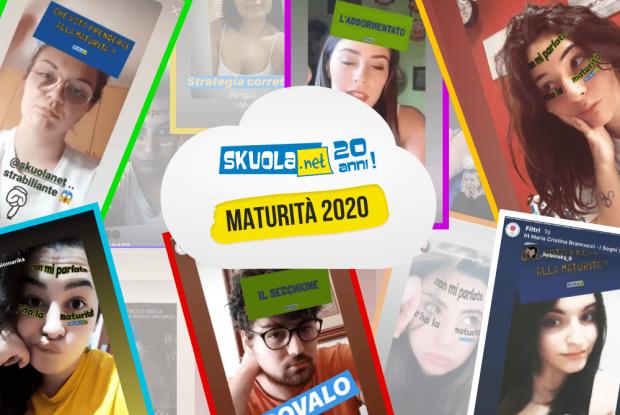 Skuola.net - Maturità 2020 - Filtri Instagram